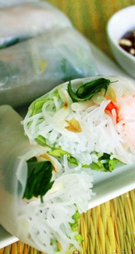 Fresh Vietnamese Spring Rolls | gimmesomeoven.com