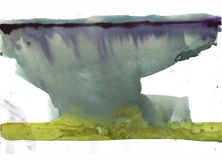 """Przejrzyj mój projekt w @Behance: """"Landscape sketches.""""…"""