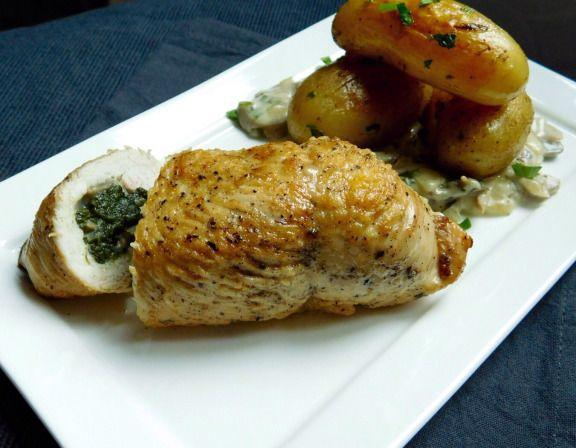 17 meilleures id es propos de escalope de poulet farcie sur pinterest recette escalope dinde - Recette dinde farcie au four ...
