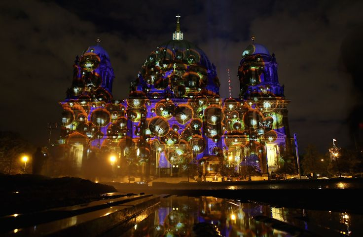 Landmarks across Berlin will be illuminated during the Festival of Lights, which runs from October 14-25. Description from zimbio.com. I searched for this on bing.com/images
