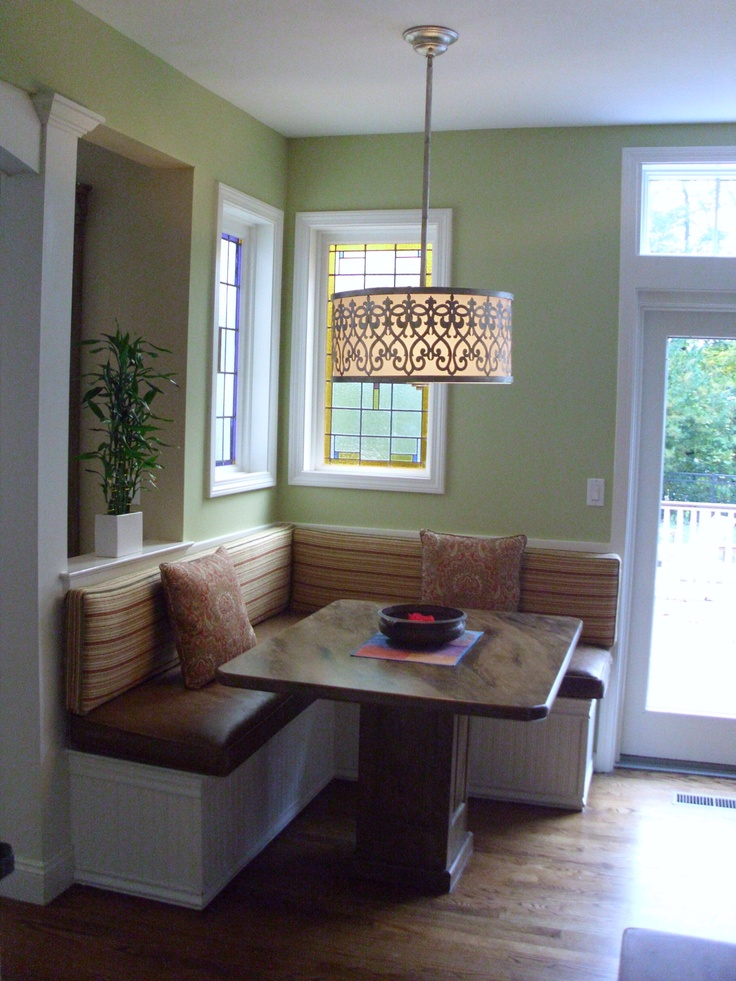 Breakfast nook design