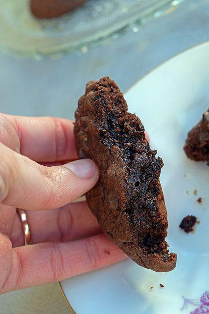Cookies au sarrasin et chocolat  | Chez Becky et Liz, blog de cuisine anglaise