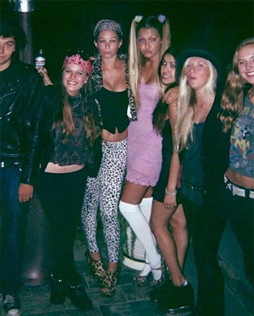 Idée costume d'Halloween : Gigi Hadid en Baby Spice