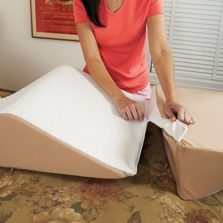 back max bed wedge pillow