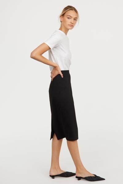 a28f822b4 Jersey Pencil Skirt | CHRISTMAS 2018 | Pencil skirt black, Clothes ...