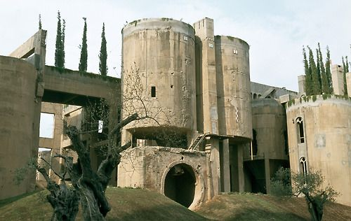 The Factory, in Sant Just Desvern, Spain by architect Ricardo Bofill