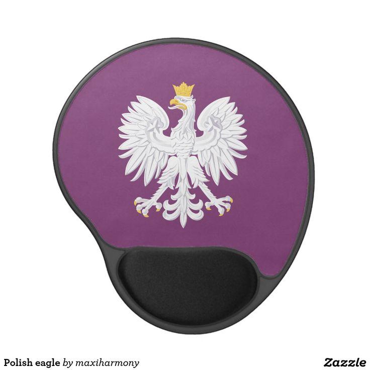 Polish eagle gel mouse pad