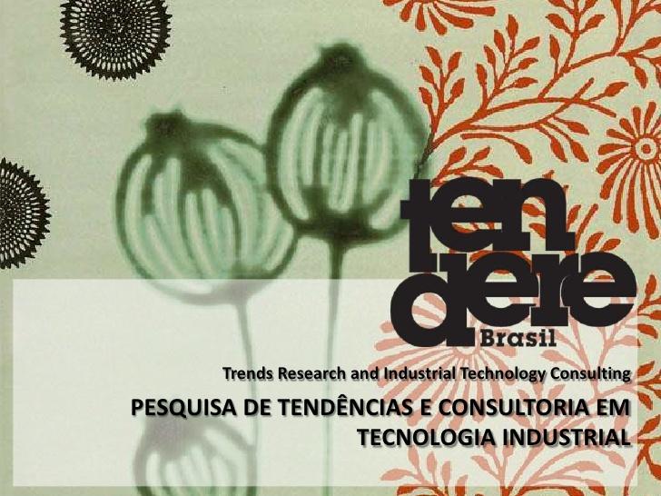 Presentation TENDERE by Patricia Anna via Slideshare