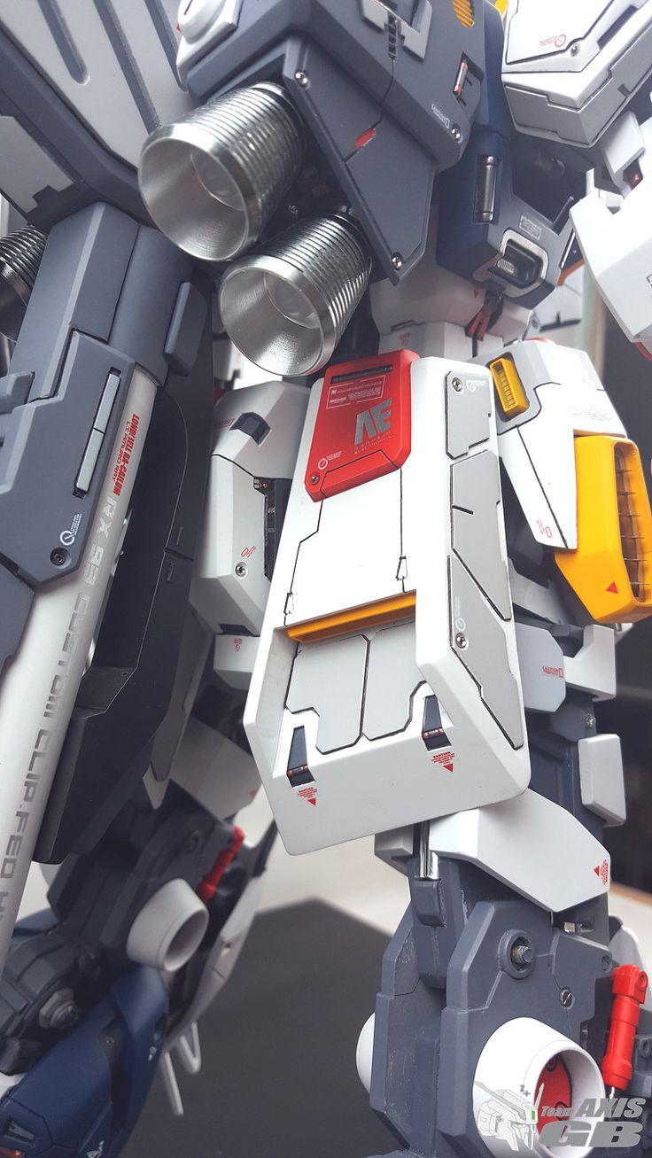 GUNDAM GUY: G-System 1/48 Nu Gundam Evolve - Painted Build