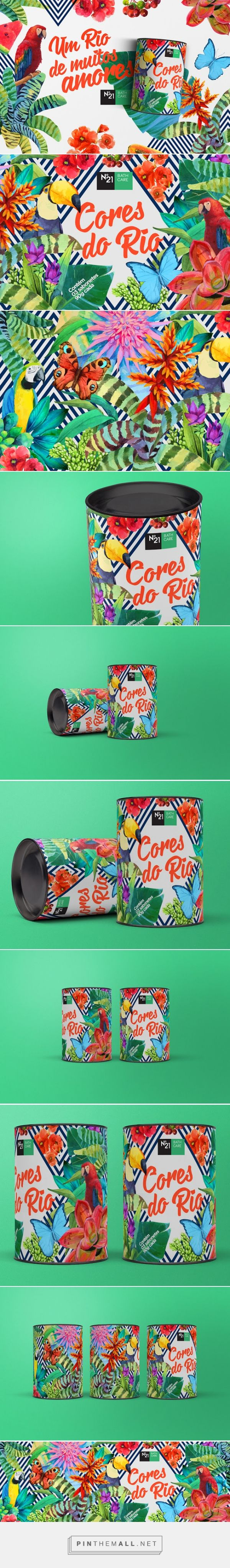 Colors of Rio #Soap #packaging designed by Up Design - http://www.packagingoftheworld.com/2015/05/colors-of-rio-soap.html