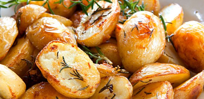 Roasted Potatoes with Garlic & Herbs - Mayo Clinic Diet