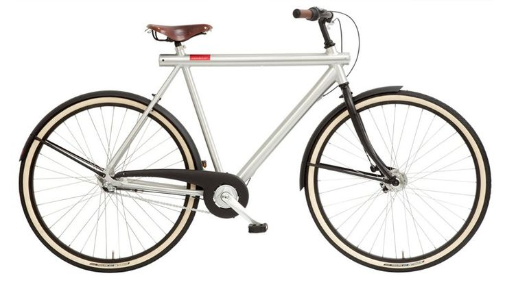 Delta Bicycle in grey by Vanmoof. This is the perfect bike to change your commuting habit. Traffic jams in the city has worsen over the years, you should change your transportation arrangement. This light weight bike is the perfect replacement for your car. http://www.zocko.com/z/JH9VB