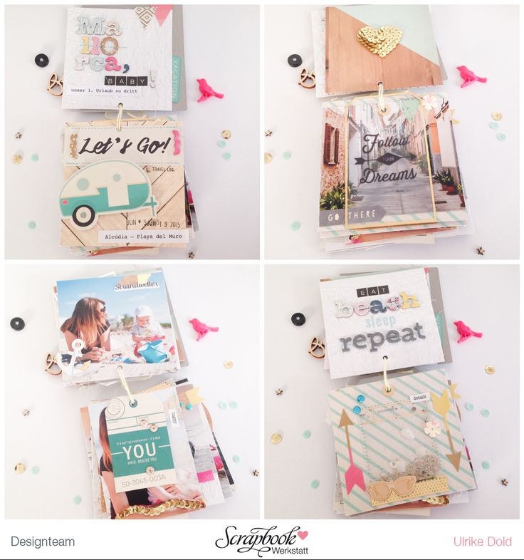 Reise Mini mit Crate Paper Journey, Poolside & Craft Market von Ulrike Dold