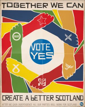 Together we can create a better Scotland. Vote Yes.