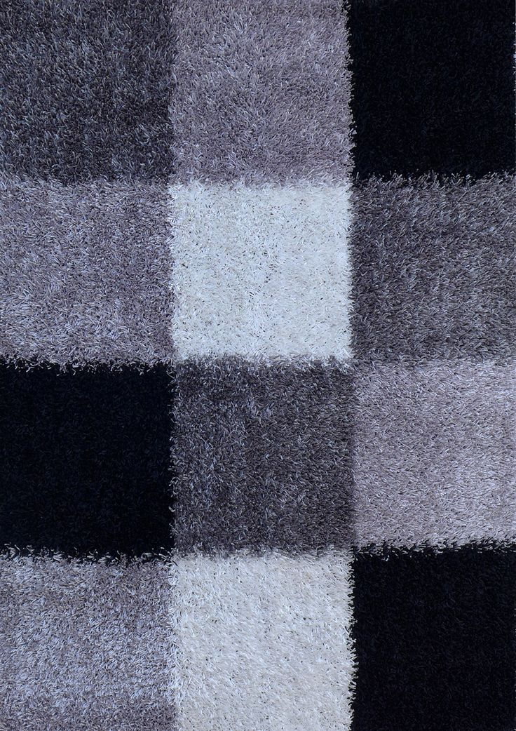 Featuring a spectrum of grey tones in a smart check square pattern, the Brilliant Rug in Grey Check will pull the whole look together.  Price $249.