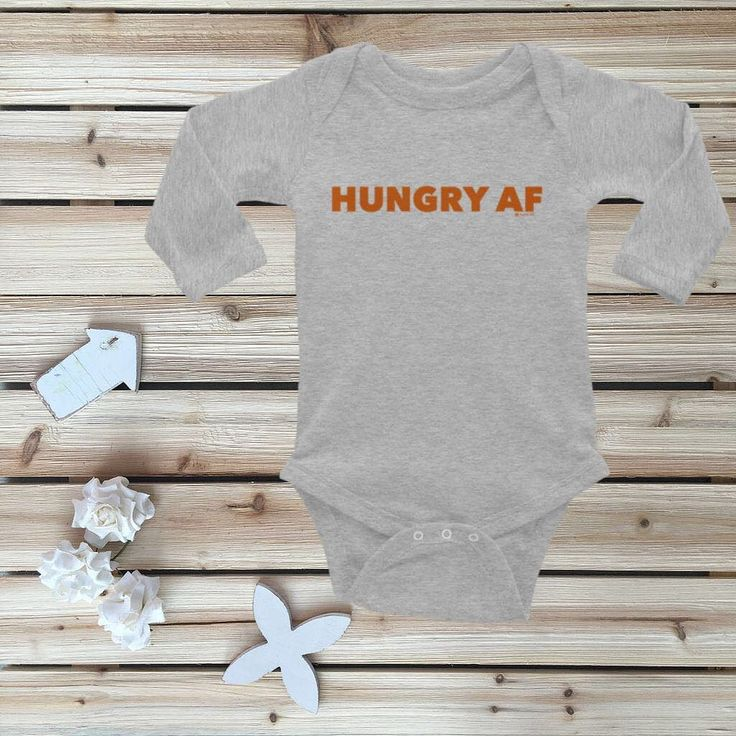Whos getting hungry? Thanksgiving is so soon!!! Shop---> https://www.fayfaire.com/collections/fayfaire-new-release-collection/products/hungry-af-thanksgiving-onesie-every-baby-needs-size-nb-18m
