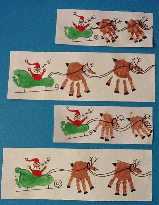 Un'attività molto carina da proporre ai nostri bambini per Natale e per il periodo che lo precede è la pittura con le mani di immagini a tem...