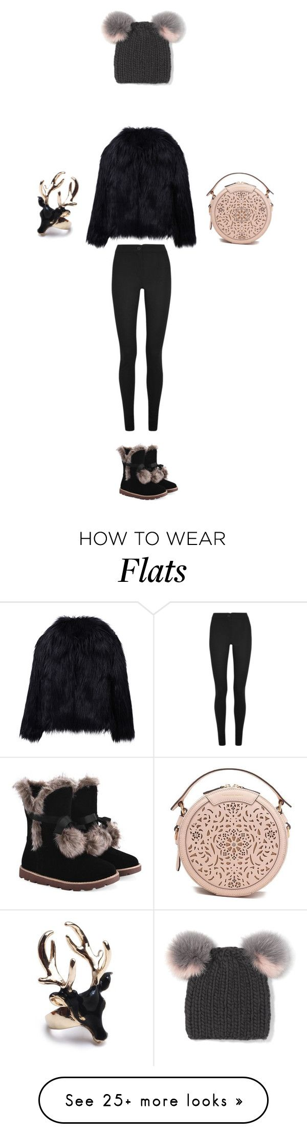 """""""Untitled #869"""" by cassidyontrapeze on Polyvore featuring Eugenia Kim, WithChic, Ann Demeulemeester and Tadashi Shoji"""