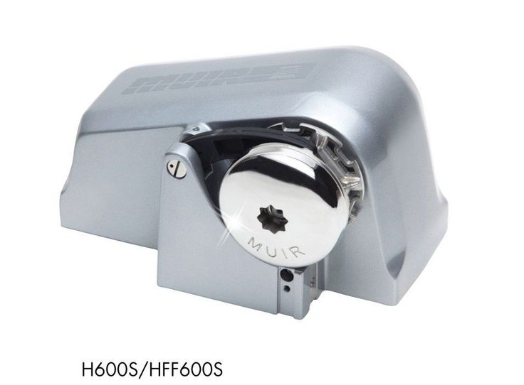 MUIR HFF600 S Auto Freefall Electric Anchor Winch Windlass Silver