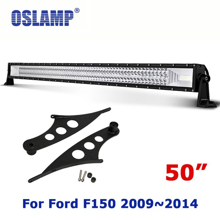 best price oslamp for ford f150 20092014 remodel 480w 4x4 led offorad straight light bar 50 #50 #inch #led #light #bar