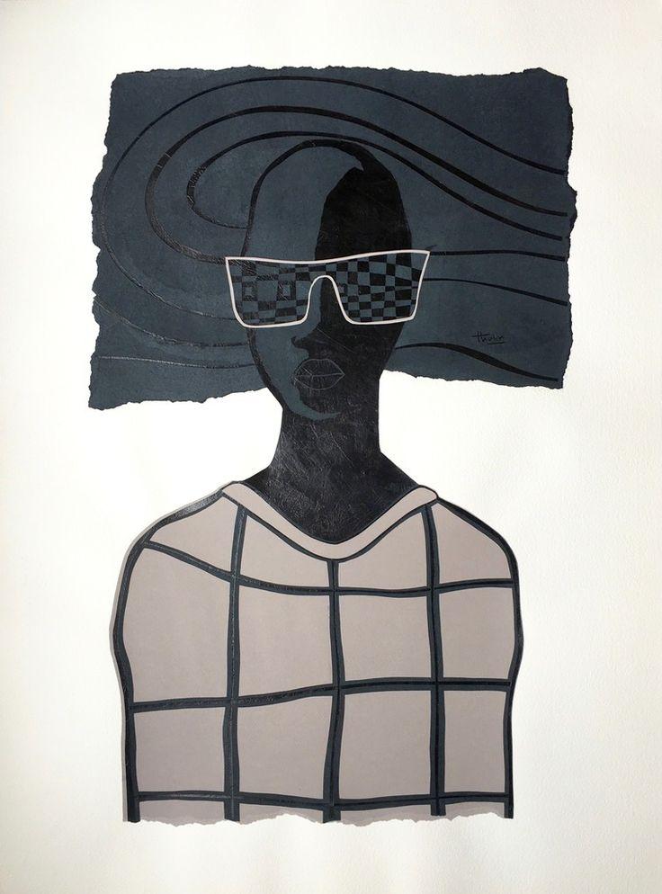 David Thuku, Observer III (Identity Series), 2016, ARTLabAfrica
