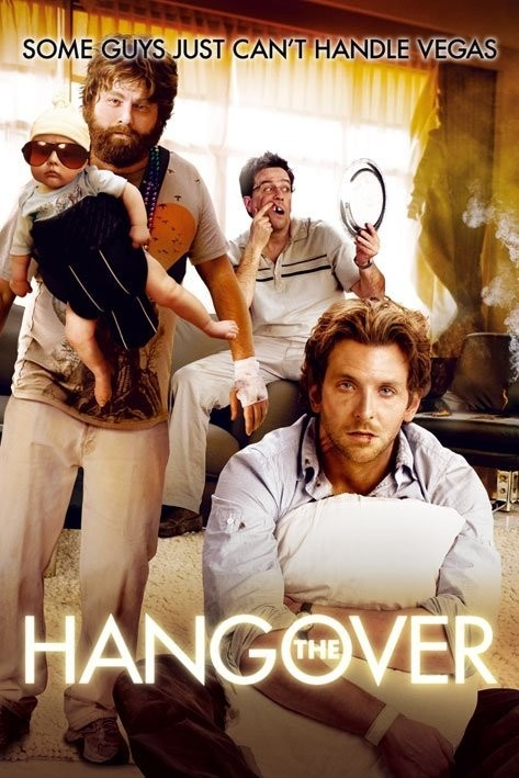 Se Beber, Não Case - Bradley Cooper, Ed. Helms, Zach Galifianakis, Jason Bateman.