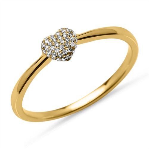 Diamantring herz gold  164 besten R I N G E Bilder auf Pinterest | Damen, Preiswert und ...