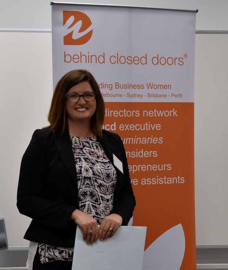 2016 Entrepreneur Scholarship Winner Marie Sulda. Behind closed doors hold quarterly Connexions networking events for women.  Join our mailing list to be invited to upcoming events.  In September 2016 Jane Yuile was our Guest Speaker.
