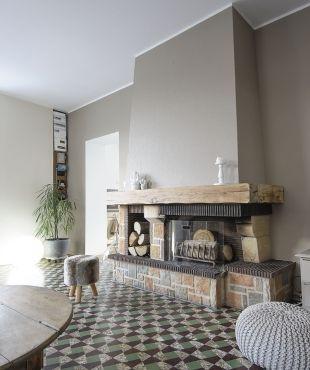 Fabuleux Les 25 meilleures idées de la catégorie Relooking cheminee sur  NA27
