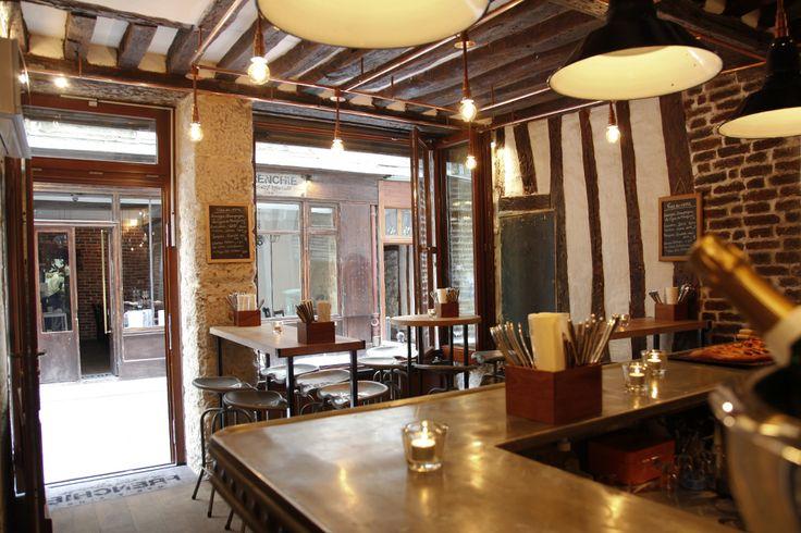 Frenchie Restaurant :Bar à vins Frenchie 6, rue du Nil 75002 Paris