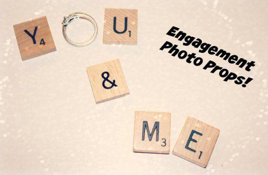 You & Me Engagement Prop