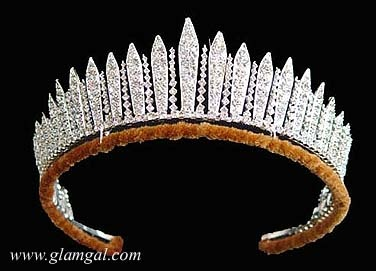 diamond Fringe Tiara worn by Queen Victoria