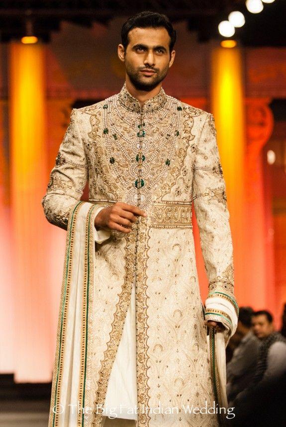 sherwani / Anjalee & Arjun Kapoor at Aamby Valley Bridal Week