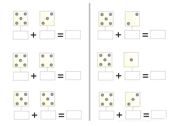 sumas para preescolar con dibujos para colorear - Buscar con Google