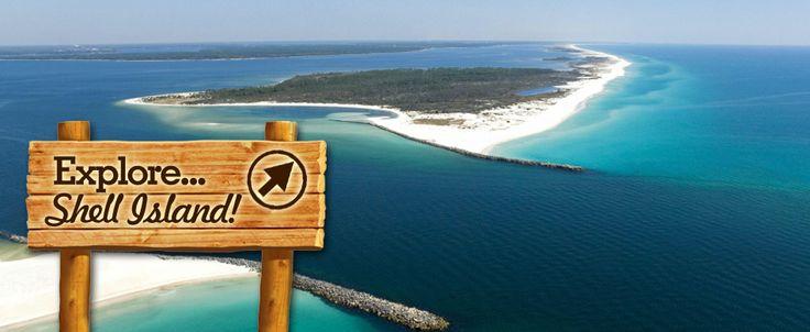 St Andrews State Park Shell Island Shuttle | Panama City Beach Shuttle, Pontoon Boats, Snorkel Gear, KayaksSt Andrews State Park Shell Islan...