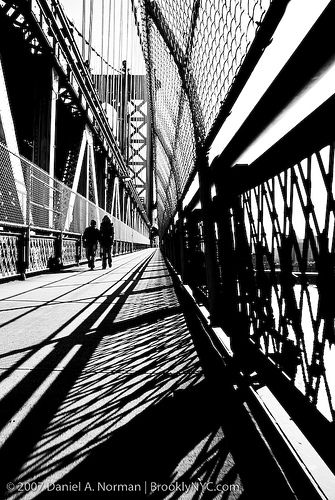 new york art photography Manhattan Bridge by Daniel A. Norman, via Flickr