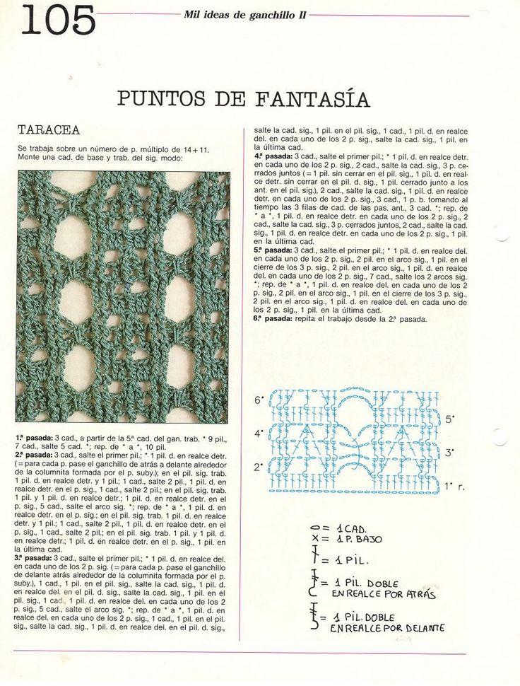 Contemporáneo Patrones De Crochet Libre De Taracea Embellecimiento ...