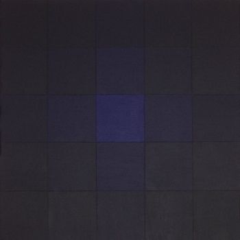 Senza titolo, 1971, acrilico su tela, cm 200 x 200 Jorrit Tornquist - FerrarinArte - Spazio eventi 2015