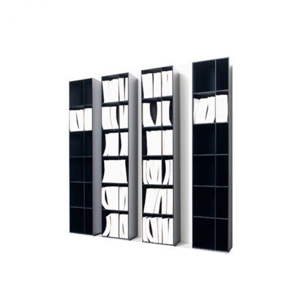 Twist Bookcase -design Carlo Colombo - Arflex