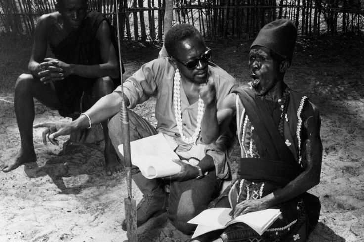 The Story of Sembene!: How Ousmane Sembene Invented African Cinema | By Bilge Ebiri for Vulture | ''The Senegalese filmmaker Ousmane Sembene (1923–2007), often called the father of African cinema, had a seismic career. He effectively created an African film industry out of nothing: In 1963, with a used 16mm camera and leftover film stock sent by friends from Europe, he made a short called Borom Sarret (The Wagon Driver), considered the first African movie made by […]''