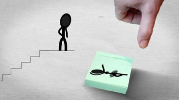 Wedding Invitation With Stick Figures After Effects Template | Royalty-Free After Effects Template Library | 9367462