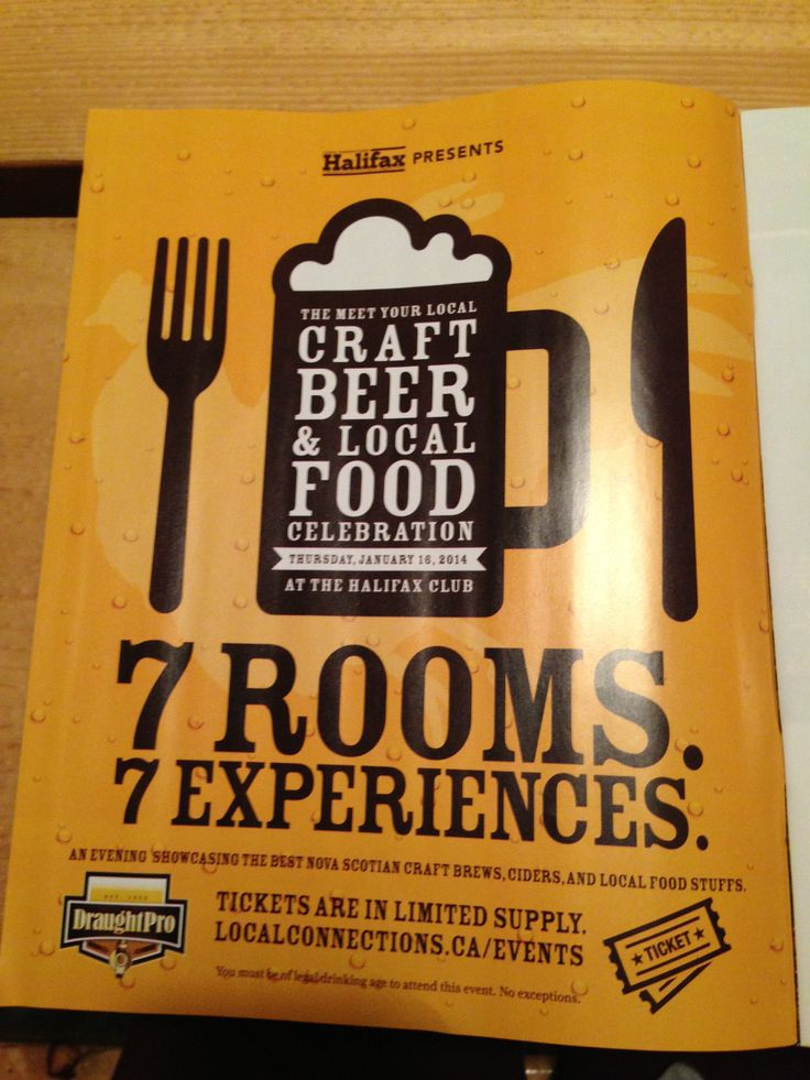 Awesome craft beer & food event happening in Halifax on Jan 19