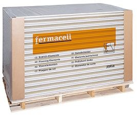 La plaque Fermacell est exclusivement composée de gypse et de fibres de cellulose issues du recyclage du papier. le mélange de ces composants naturels additionné d'eau est ensuite compressé à haute pression et séché à haute température pour obtenir une plaque d'une rigidité incomparable.    La plaque Fermacell est universelle pour plafonds, cloisons, doublages et planchers. Incombustible (classée Mo), elle offre une haute résistance au feu et sa propriété hydrofuge étend son application aux…