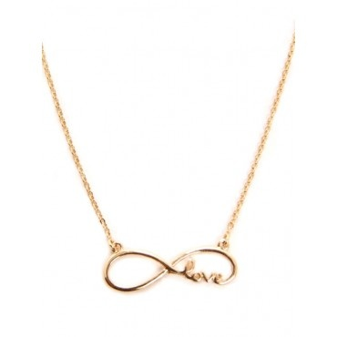 Infinty Love Charm Necklace