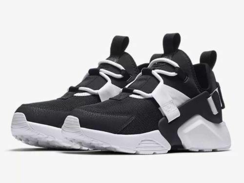 8830ee2906db5 Nike Air Huarache City Low Women's Size 7.5- Black/ Black- White ...