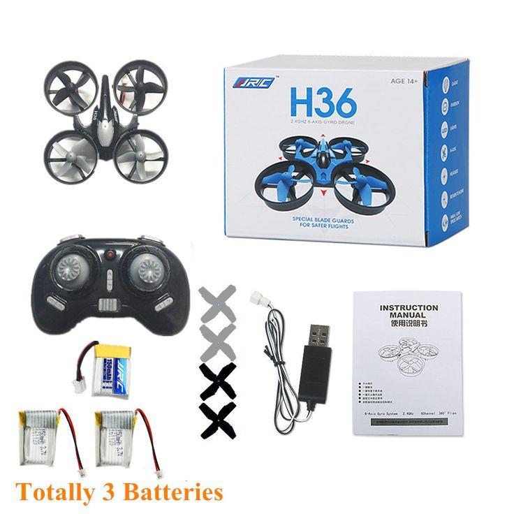 H36 mini nano rc quadcopter drone jjrc satu kunci kembali headless modus rc quadrotor vs jjrc h20 h8