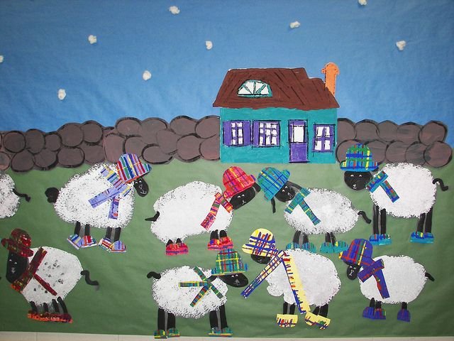 tartan scarves, on sheep? Who could resist them? :-)