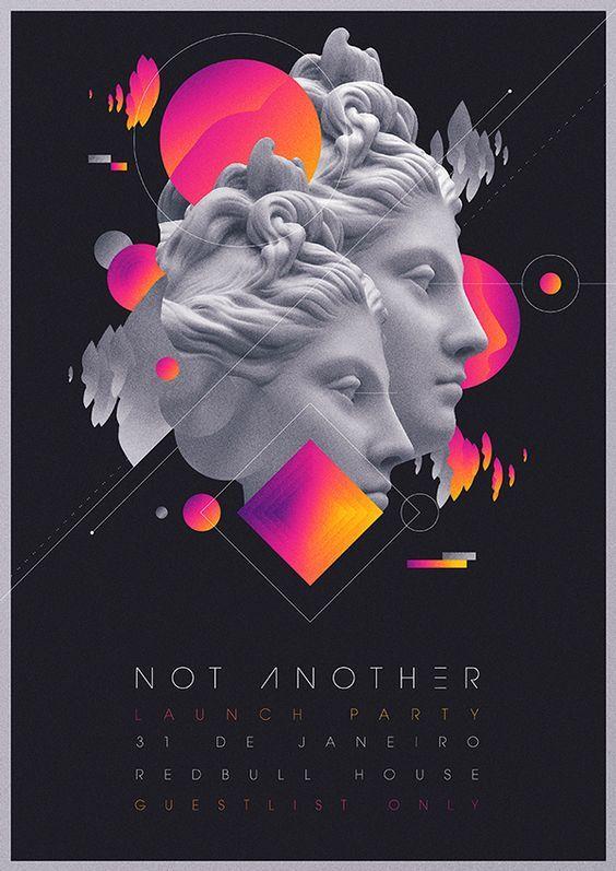 Not Another Launch Party Flyer Artwork – Pedro Muniz: