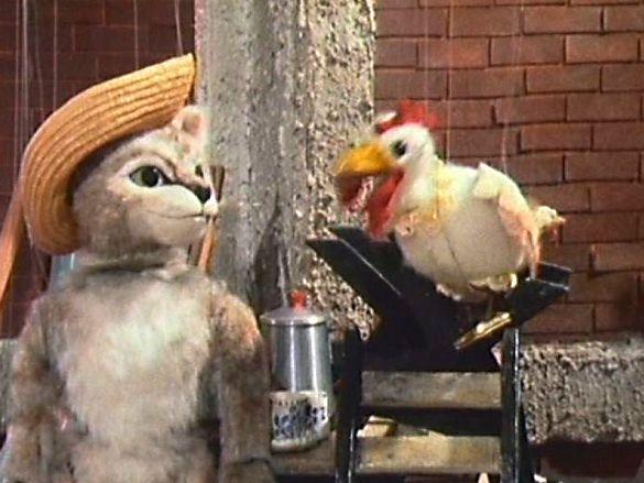 Die Katze mit Hut – Augsburger Puppenkiste.
