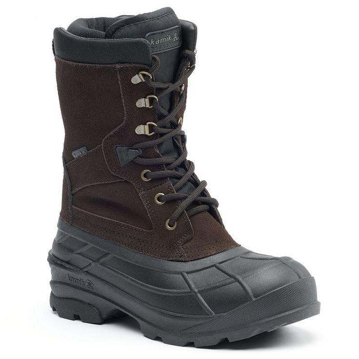 Kamik NationPlus Men's Waterproof Winter Boots, Size: